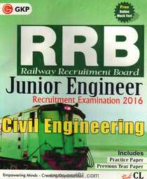 RRB Junior Civil Engineering Recruitment Examination 2016