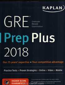 GRE I Pre Plus 2018