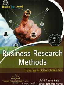 Business Research Methods Including MCQ For Online Test