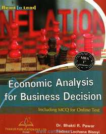 Economic Analysis For Business Decision Including MCQ For Online Test