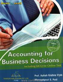 Accounting For Business Decision Including MCQ For Online Test