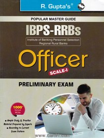 Popular Master Guide IBPS RRBs Officer Scale 1 Preliminary Exam