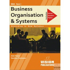 BUSINESS ORGANISATION & SYSTEMS