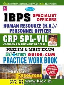 IBPS Human Resource Personnel Officer CRP SPL VII Practice Work Book