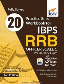 20 Practice Sets IBPS RRB Officer Scale 1 Preliminary Exam