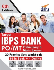 Target IBPS Bank PO MT Preliminary And Main Exams 20 Practice Sets Workbook
