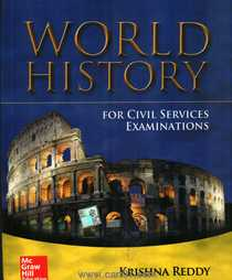 World History Civil Services Examinations