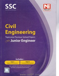 SSC Civil Engineering For Junior Engineer Paper I and II