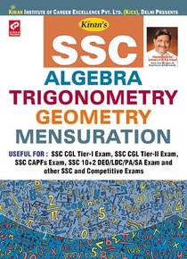 SSC Algebra Trigonometry Geometry Mensuration
