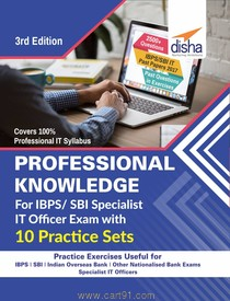 Professional Knowledge For IBPS SBI Specialist IT Officer Exam With 10 Practice Sets