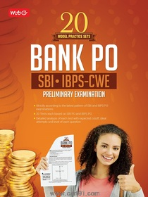 20 Model Practice Sets Bank PO SBI IBPS CWE Preliminary Examination
