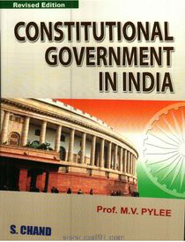 Constitiutionl Government In India