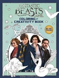 Fantastic Beasts Coloring And Creativity Book