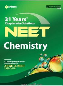 NEET Chemistry 31 Years Chapterwise Solutions