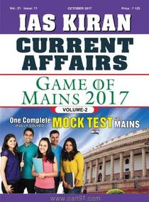 IAS Current Affairs Volume 2