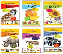 Wordsmith Publications Activity Books And My Little GK Book Kit (6 Books)
