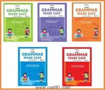 Wordsmith Publications Activity Books And English Grammar Made Easy Book Series (5 Books)