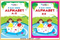 Wordsmith Publications Activity Books And I Can Write Alphabet Book Set (2 Books)