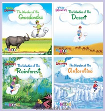 Wordsmith Publications Activity Books And Vicky Discovers Series (4 Books)