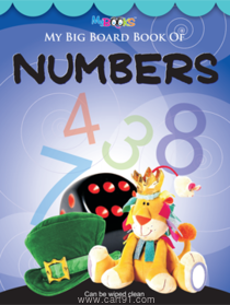 My Big Board Book of Numbers