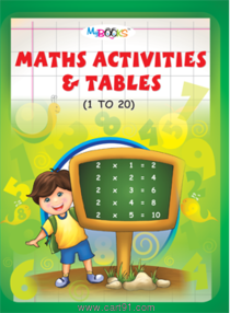 Maths Activities And Tables 1 to 20