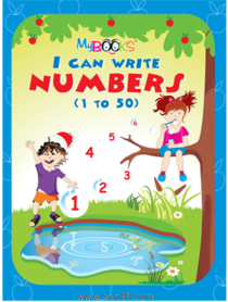 I Can Write Numbers 1-50