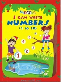 I Can Write Numbers 1-10
