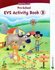 Grafalco Pre School EVS Activity Book - B