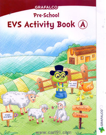 Grafalco Pre School EVS Activity Book - A