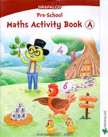 Grafalco Pre School Maths Activity Book - A