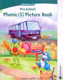 Grafalco Pre School Phonic (5) Picture Book