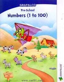 Grafalco Pre School Numbers 1 to 100