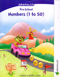 Grafalco Pre School Numbers 1 to 50