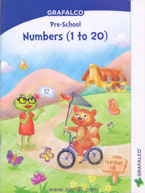 Grafalco Pre School Numbers 1 to 20