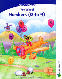 Grafalco Pre School Numbers 0 to 9