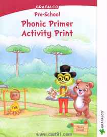 Grafalco Pre School Phonic Primer Activity Print