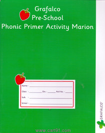 Grafalco Pre School Phonic Primer Activity Marion
