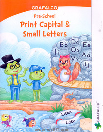 Grafalco Pre School Print Capital And Small Letters