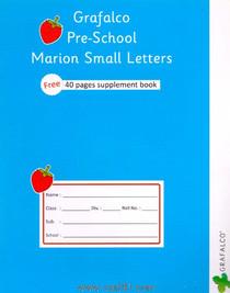 Grafalco Pre School Marion Small Letters