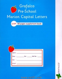 Grafalco Pre School Marion Capital Letters