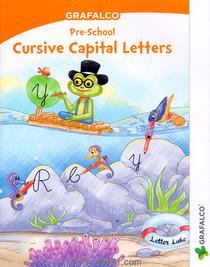 Grafalco Pre School Cursive Capital letters