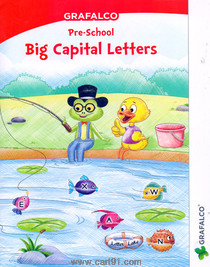 Grafalco Pre School Big Capital Letters