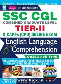 SSC CGL Tier II English Language And Comprehension