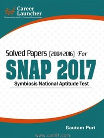 Symbiosis National Aptitude Test Solved Papers