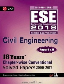 ESE 2018 Civil Engineering Paper I And II
