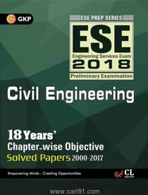 ESE 2018 Civil Engineering Chapterwise Solved Papers