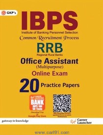 IBPS RRB Office Assistant Online Exam 20 Practice Papers