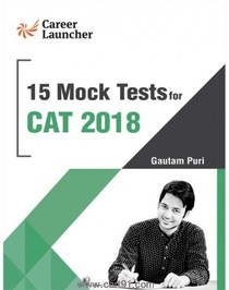 15 Mock Tests For CAT 2018