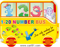 1 to 20 Number Bus