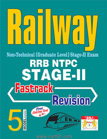 Railway RRB NTPC Stage II Fastrack Revision (English)